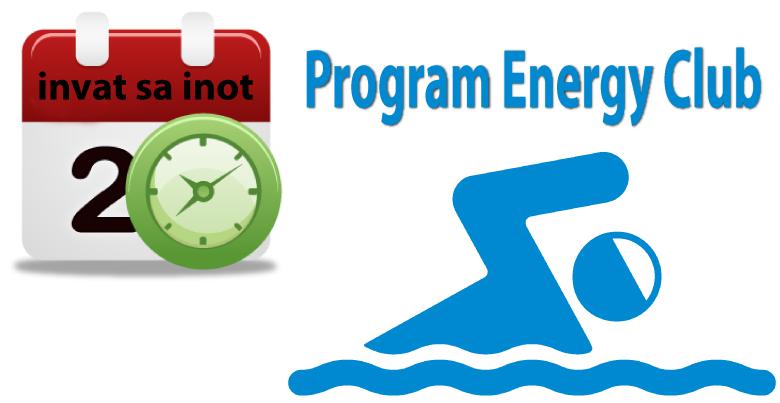 Programul Cursurilor de Inot al Energy Club